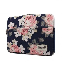 FUTERAŁ CANVASLIFE SLEEVE MACBOOK AIR/PRO 13 NAVY ROSE