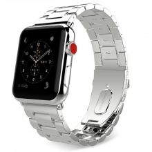 BRANSOLETA CASSY STAINLESS APPLE WATCH 1/2/3 (42MM) SILVER