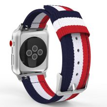 PASEK CASSY WELLING APPLE WATCH 1/2/3 (42MM) NAVY/RED