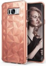 ETUI RINGKE PRISM AIR SAMSUNG GALAXY S8 ROSE DIAMOND