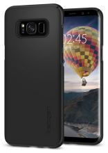 ETUI SPIGEN SGP THIN FIT GALAXY S8 BLACK