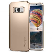 ETUI SPIGEN SGP THIN FIT GALAXY S8 GOLD MAPLE
