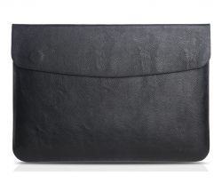 SKÓRZANY FUTERAŁ CASSY TAIKESEN MACBOOK AIR/PRO 13 DEEP BLACK