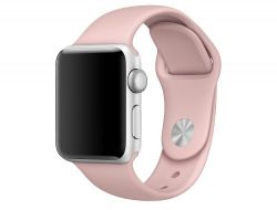 PASEK CASSY SMOOTHBAND APPLE WATCH 1/2/3 (42MM) PINK SAND