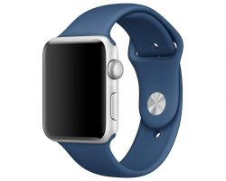 PASEK CASSY SMOOTHBAND APPLE WATCH 1/2/3 (42MM) MIDNIGHT BLUE
