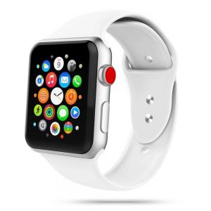 TECH-PROTECT ICONBAND APPLE WATCH 2/3/4/5/6/SE (42/44MM) WHITE
