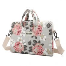 TORBA CANVASLIFE BAG MACBOOK AIR/PRO 13 WHITE ROSE