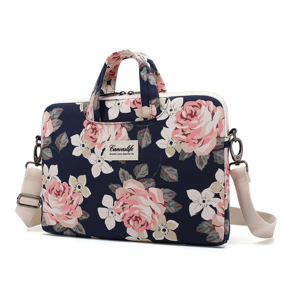 f047da6bb372 TORBA CANVASLIFE BAG MACBOOK AIR PRO 13 NAVY ROSE