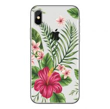 ETUI CASSY SLIM CASE IPHONE 7/8 TROPICAL FLOWERS