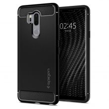 ETUI SPIGEN RUGGED ARMOR LG G7 THINQ BLACK