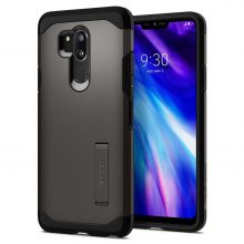 ETUI SPIGEN TOUGH ARMOR LG G7 THINQ GUNMETAL