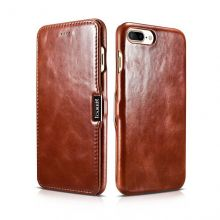 ETUI ICARER VINTAGE IPHONE 7/8 PLUS BROWN