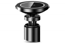 UCHWYT SAMOCHODOWY BASEUS BIG EARS CAR MOUNT WIRELESS CHARGER BLACK