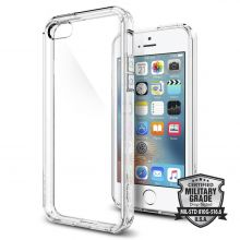 ETUI SPIGEN SGP ULTRA HYBRID IPHONE 5S/SE CRYSTAL CLEAR