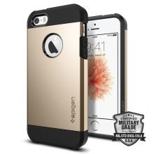 ETUI SPIGEN SGP TOUGH ARMOR IPHONE 5S/SE CHAMPAGNE GOLD