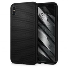 ETUI SPIGEN LIQUID AIR IPHONE XS MAX MATTE BLACK
