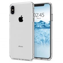 ETUI SPIGEN LIQUID CRYSTAL IPHONE X/XS CRYSTAL CLEAR