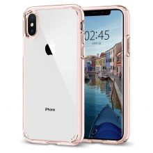 ETUI SPIGEN ULTRA HYBRID IPHONE X/XS ROSE CRYSTAL