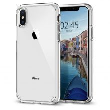 ETUI SPIGEN ULTRA HYBRID IPHONE X/XS CRYSTAL CLEAR