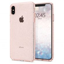 ETUI SPIGEN LIQUID CRYSTAL IPHONE XS MAX GLITTER ROSE