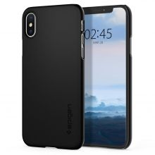 ETUI SPIGEN THIN FIT IPHONE X/XS BLACK
