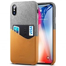 ETUI ESR METRO IPHONE X/XS BROWN/GREY
