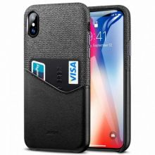 ETUI ESR METRO IPHONE X/XS BLACK/GREY