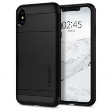 ETUI SPIGEN SLIM ARMOR CS IPHONE X/XS BLACK