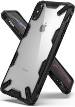ETUI RINGKE FUSION X IPHONE XS MAX BLACK
