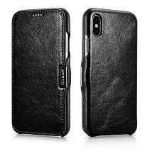 ETUI ICARER VINTAGE IPHONE X/XS BLACK