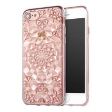 ETUI CASSY DIAMOND IPHONE 7/8 CLEAR PINK