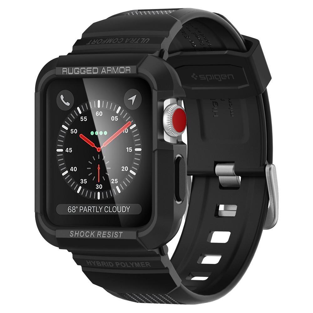 Case Band Spigen Apple Watch 1 2 3 4 42mm Black Kobiece Etui Rugged Armor For Galaxy S8 Pro