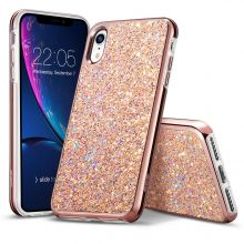 ETUI ESR GLITTER IPHONE XR ROSE GOLD