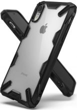 ETUI RINGKE FUSION X IPHONE XR BLACK