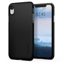 ETUI SPIGEN THIN FIT IPHONE XR BLACK
