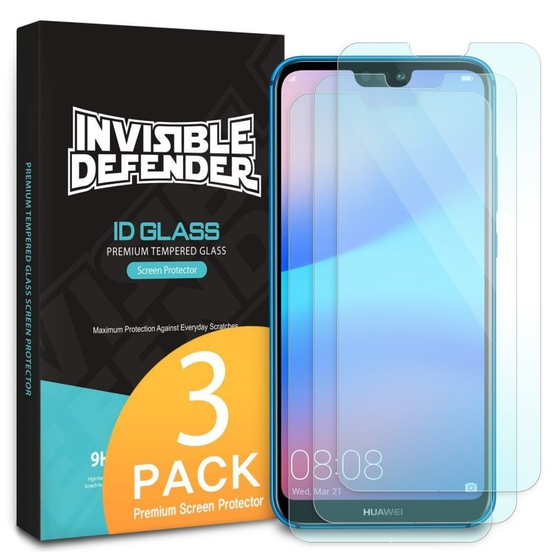 TEMPERED GLASS RINGKE ID-3PACK HUAWEI P20 LITE CLEAR
