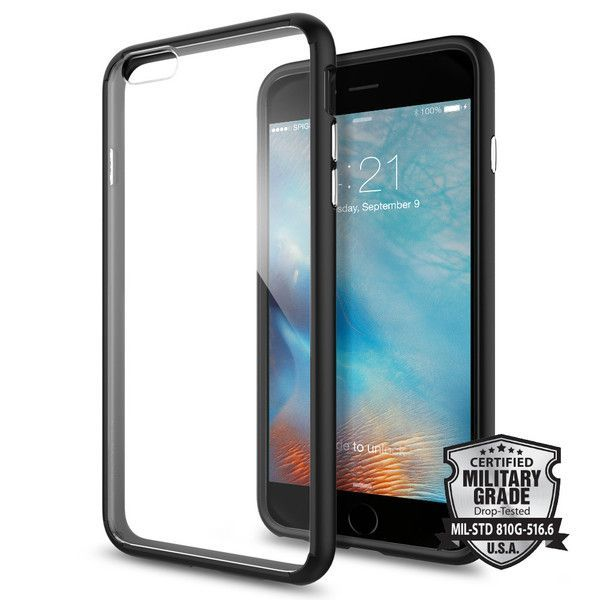 size 40 17e49 24dfc CASE SPIGEN SGP ULTRA HYBRID IPHONE 6/6S PLUS (5.5) SPACE CRYSTAL