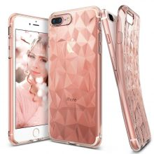 ETUI RINGKE PRISM AIR IPHONE 7/8 PLUS ROSE DIAMOND