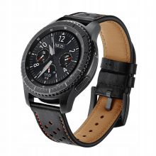 SKÓRZANY PASEK TECH-PROTECT LEATHER SAMSUNG GEAR S3 BLACK