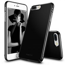 ETUI RINGKE SLIM IPHONE 7 PLUS GLOSS BLACK