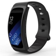 PASEK TECH-PROTECT SMOOTH SAMSUNG GEAR FIT/FIT 2 PRO BLACK
