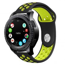 PASEK TECH-PROTECT SOFTBAND SAMSUNG GALAXY WATCH 42MM BLACK/LIME