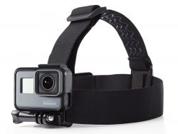 OPASKA TECH-PROTECT HEADSTRAP GOPRO BLACK