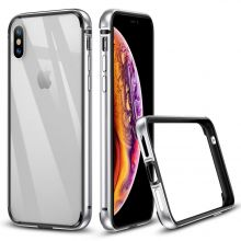 ETUI ESR CROWN IPHONE X/XS SILVER