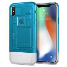 ETUI SPIGEN CLASSIC C1 IPHONE X/XS BLUEBERRY