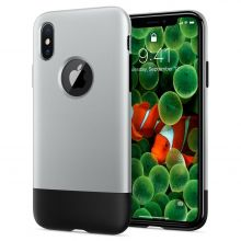 ETUI SPIGEN CLASSIC ONE IPHONE X/XS ALUMINUM GRAY