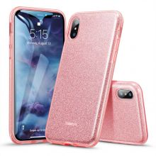 ETUI ESR MAKEUP IPHONE XS MAX ROSE GOLD