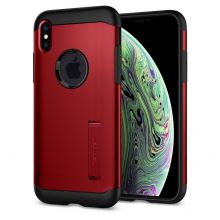 ETUI SPIGEN SLIM ARMOR IPHONE XS MAX MERLOT RED