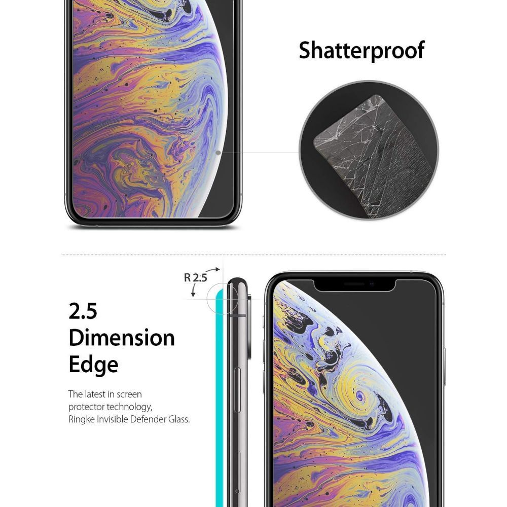 Tempered Glass Ringke Id 3pack Iphone Xr Cassy Kobiece Etui Glastr Slim Hd Screen Protector Original Tr