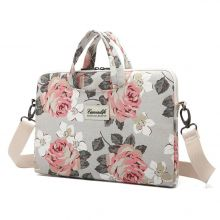 TORBA CANVASLIFE BAG MACBOOK AIR/PRO 15 WHITE ROSE